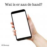 Mobieltje in hand